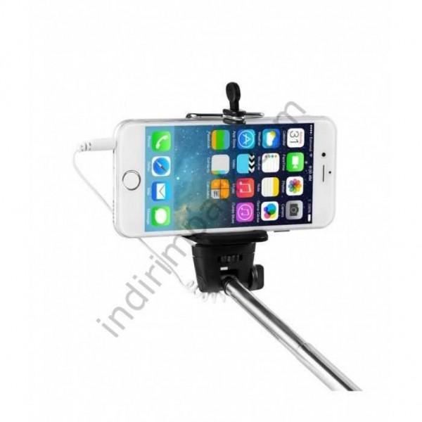 Kablolu Selfie Çubuğu Universal