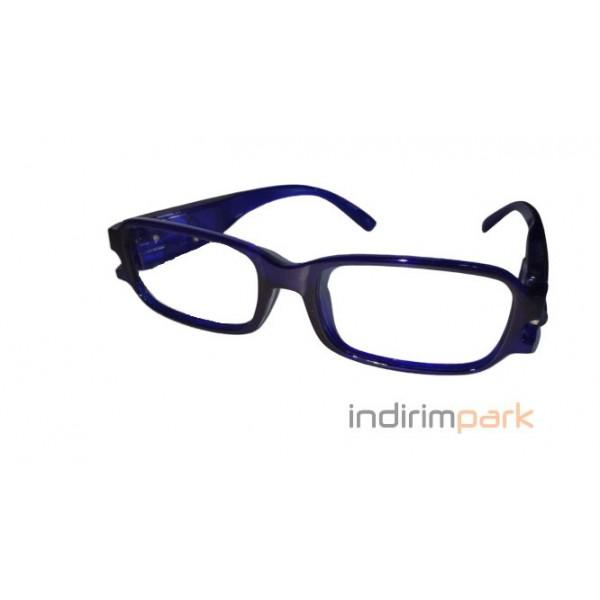 LED Işıklı Kitap Okuma Gözlüğü (5 Renk)