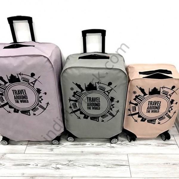 Luggage Covers - Tela Kumaş VALİZ KILIFI (large)