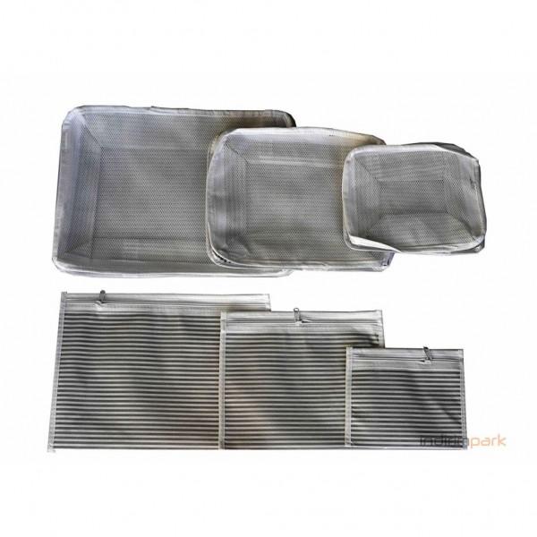 Luggage Organizer - 6 Farklı Boy Bavul Düzenleyici  (Çizgili)