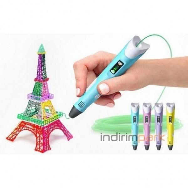 3DPEN-2 Üç Boyutlu Yazıcı 3D Kalem Pen Printer